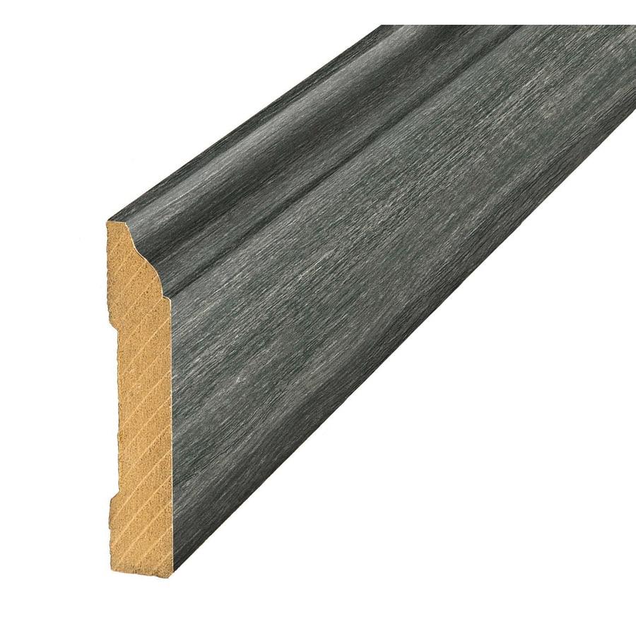 SimpleSolutions 3.3-in x 94.48-in Hidalgo Oak Base Floor Moulding