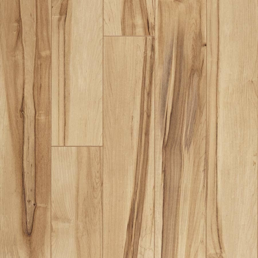 Shop pergo max monterey spalted maple wood planks laminate for Wood and laminate flooring