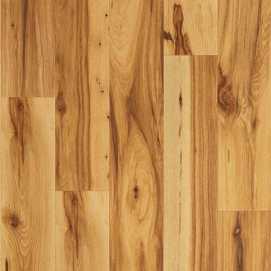 Pergo Max Handscraped Dawson Hickory Wood Planks Laminate Flooring Sample