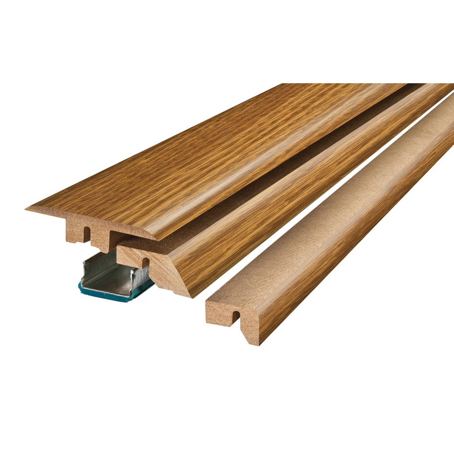 Pergo 2.37-in x 78.74-in Gunstock Oak 4-N-1 Floor Moulding