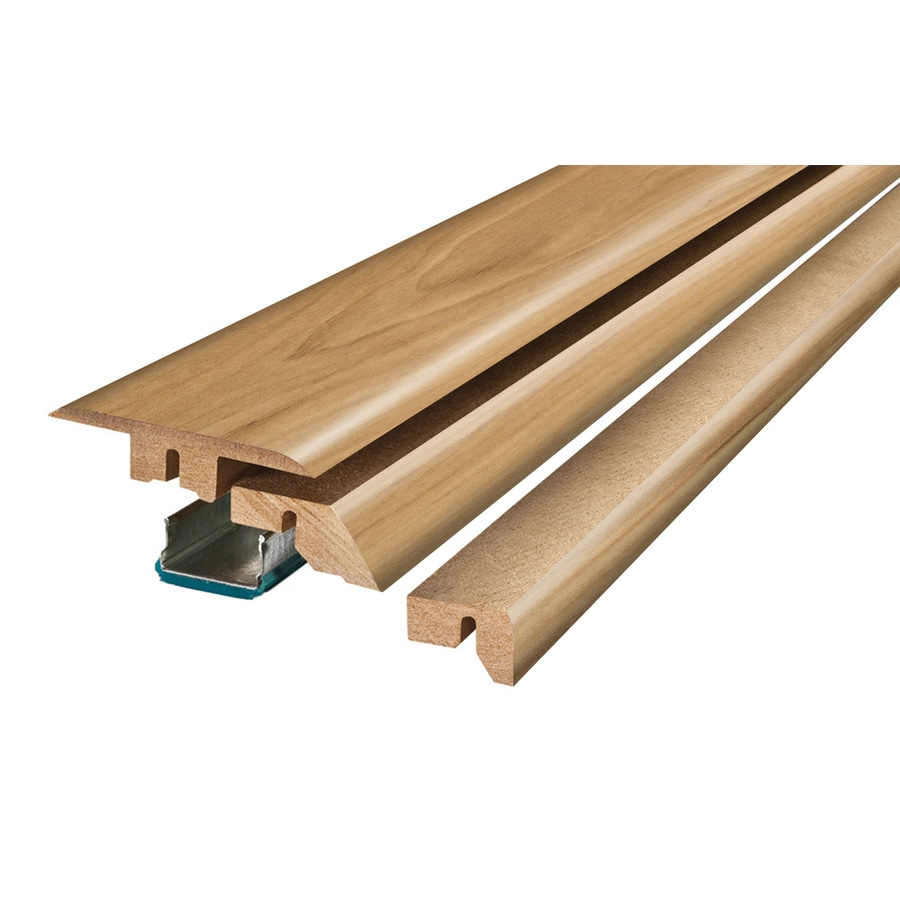 SimpleSolutions 2.37-in x 78.74-in Butterscotch Hickory / Honey Maple 4-N-1 Floor Moulding