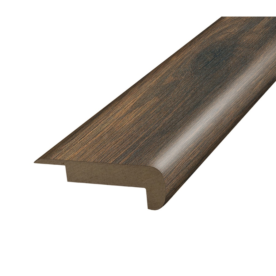 SimpleSolutions 2.37-in x 78.7-in Harvest Mill Chestnut Stair Nose Floor Moulding