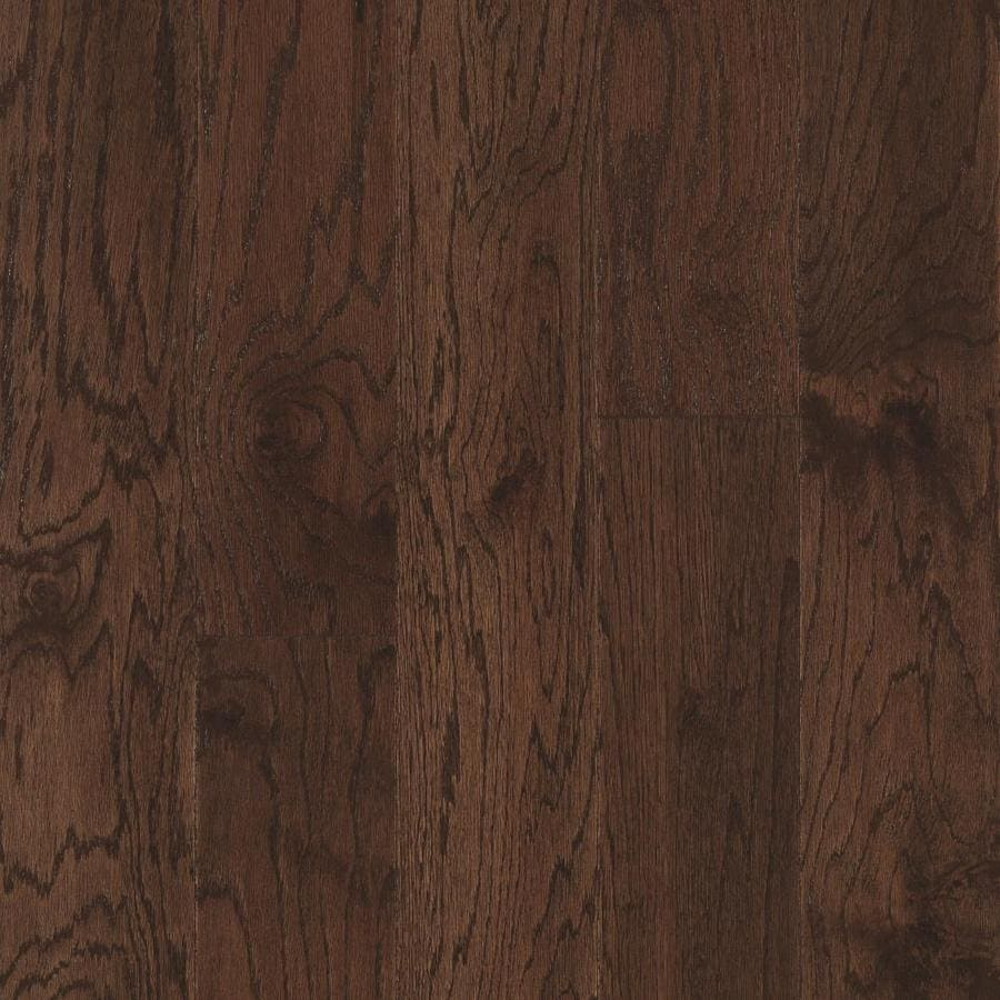 Shop Pergo Max In Prefinished Chocolate Engineered Oak - Pergo hardwood flooring