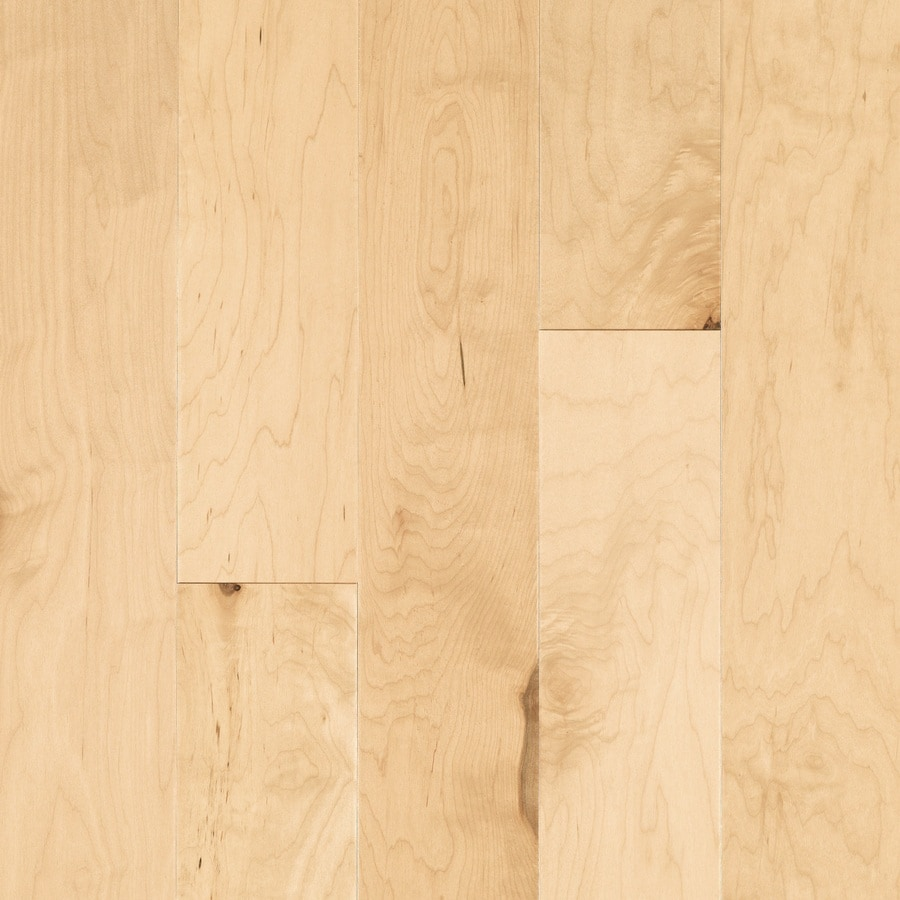 shop pergo max 5.36-in prefinished natural engineered maple