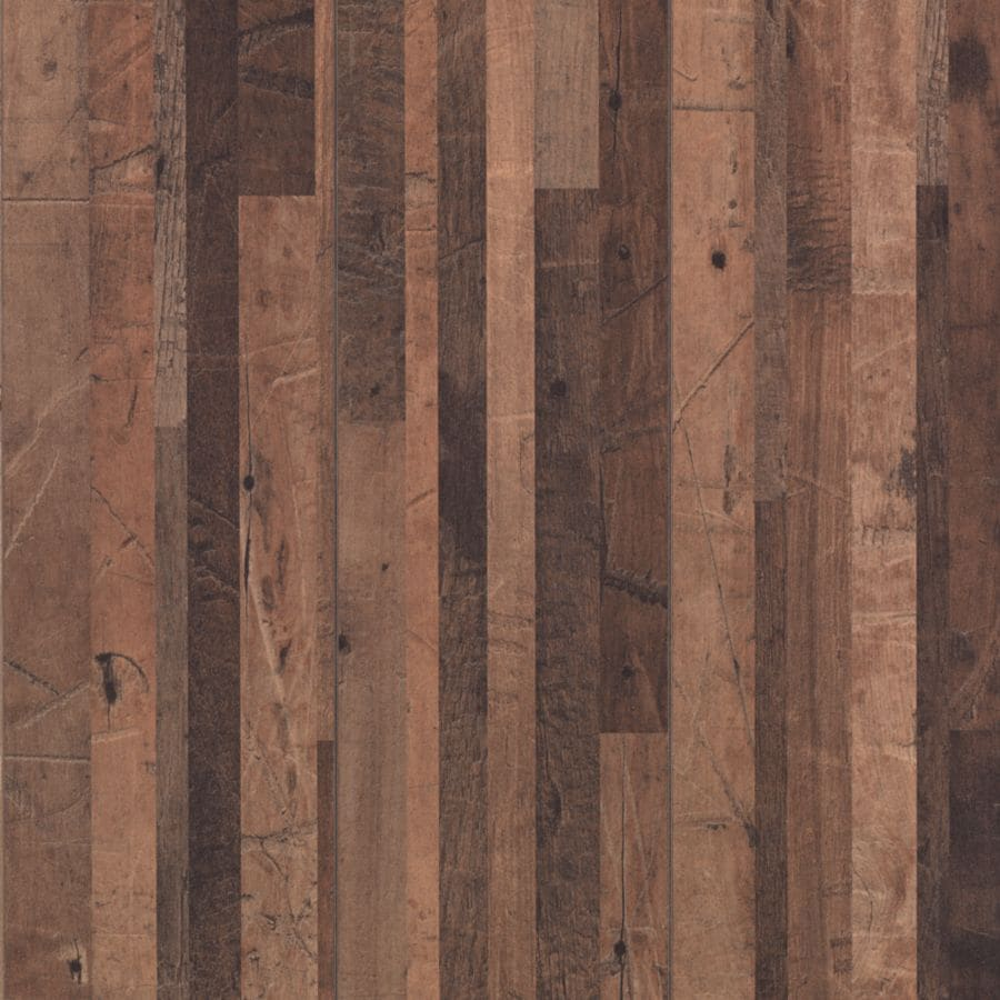 Pergo MAX 5.23-in W x 3.93-ft L Ironmill Maple Embossed Wood Plank Laminate Flooring