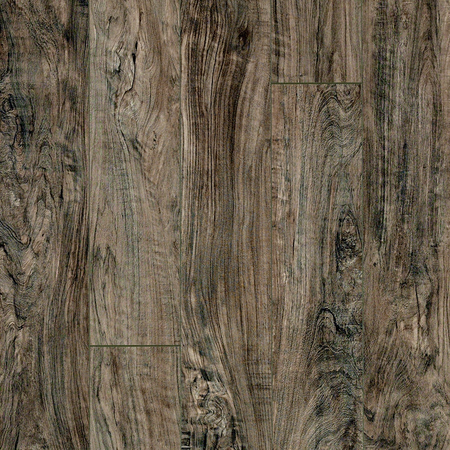 Pergo MAX 5.23-in W x 3.93-ft L Midtown Olive Smooth Wood Plank Laminate Flooring