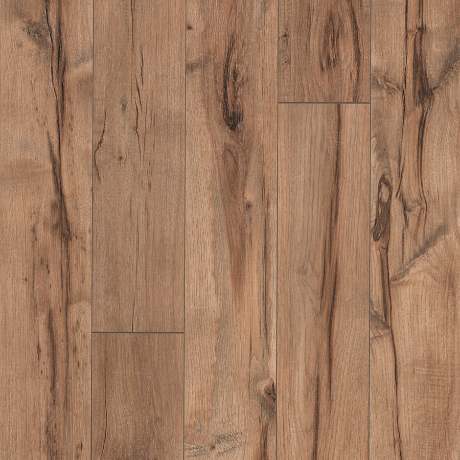 Shop pergo max w x l providence hickory for Pergo laminate flooring