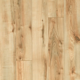 Style Selections 5.23 In W X 3.93 Ft L Rustic Honey Maple Smooth Wood