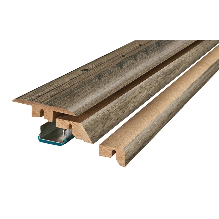 SimpleSolutions 2.37-in x 78.74-in 4-N-1 Floor Moulding