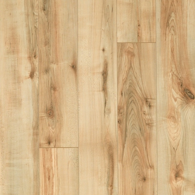 Style Selections Rustic Honey Maple Wood Planks Laminate