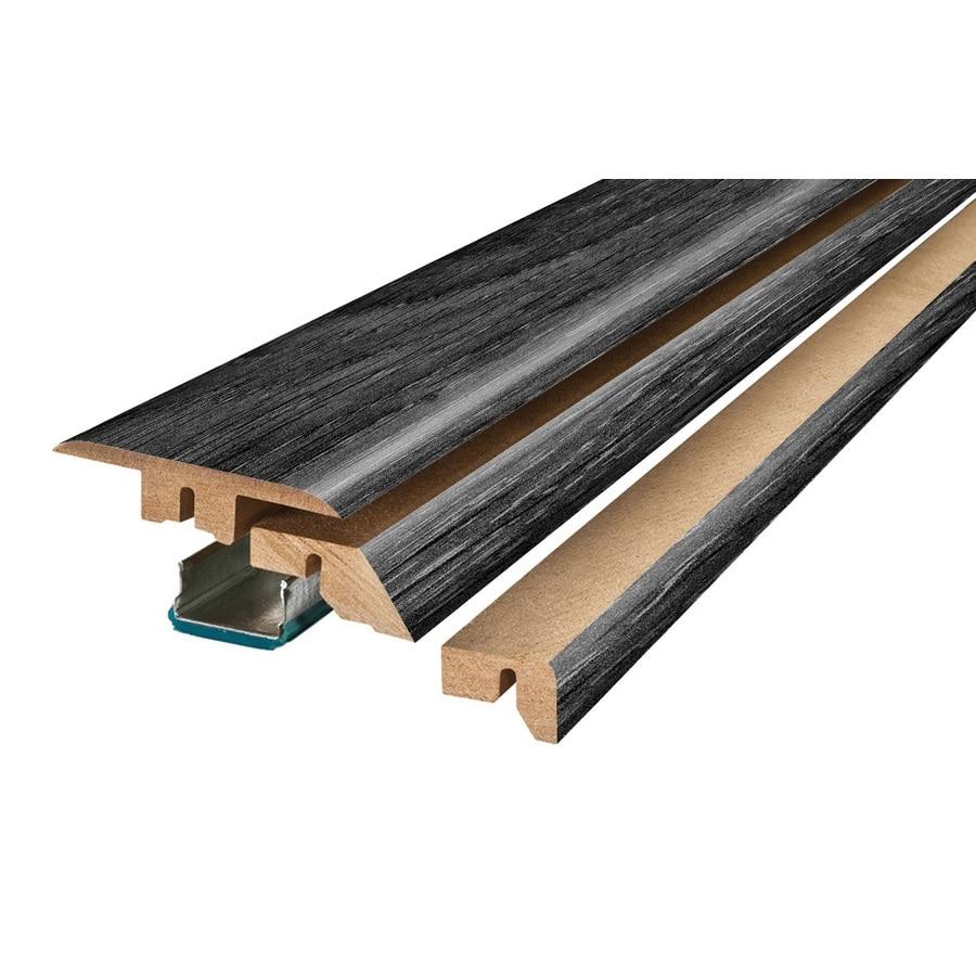 SimpleSolutions 2.37-in x 78.74-in Aged Gray Oak 4-N-1 Floor Moulding