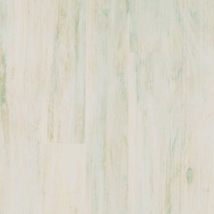 allen + roth 4.85-in W x 3.93-ft L Frosted Maple Handscraped Wood Plank Laminate Flooring