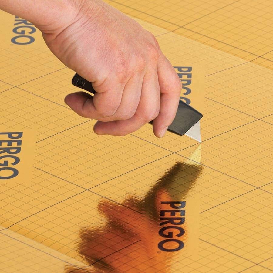 Pergo Gold 100 Sq Ft Premium 3 Mm Flooring Underlayment In The Department At Lowes