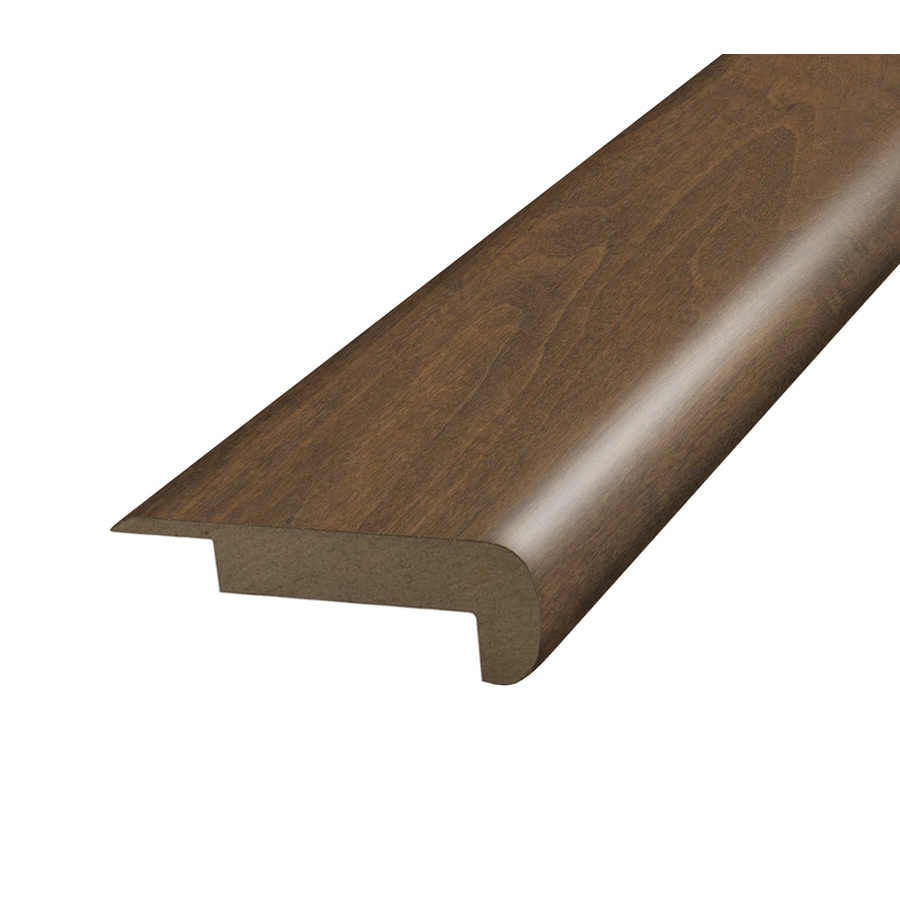 SimpleSolutions 2.375-in x 78.75-in Walnut Stair Nose Floor Moulding