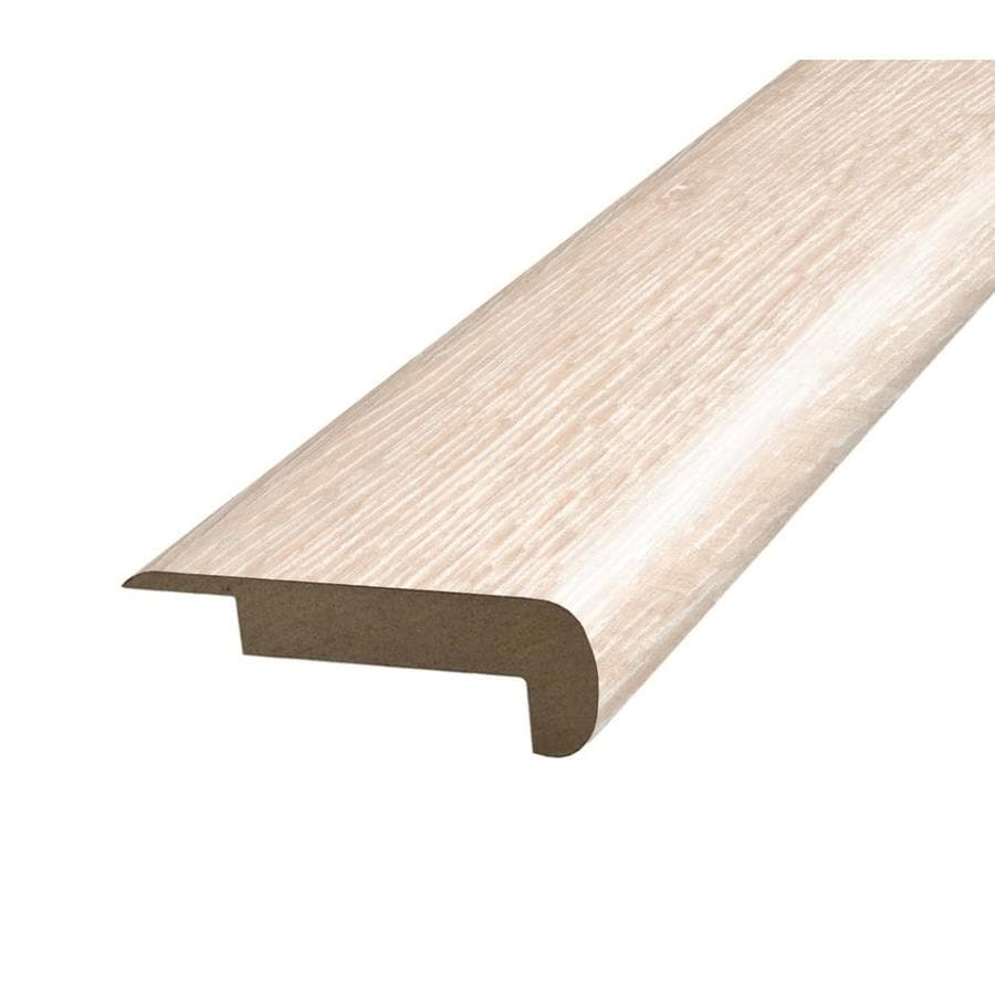 SimpleSolutions 2.375-in x 78.75-in Off White Oak Stair Nose Floor Moulding