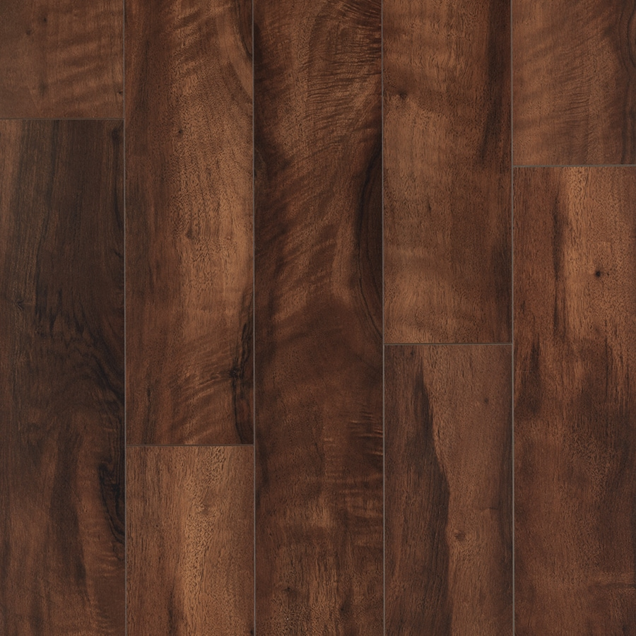 Shop Pergo Max Smooth Walnut Wood Planks Sample Mountain