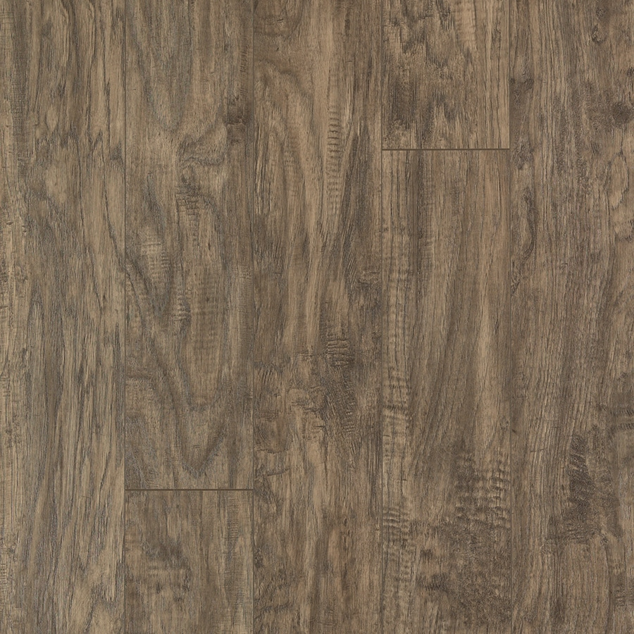 Shop Pergo Max Greyson Hickory Wood Planks Laminate