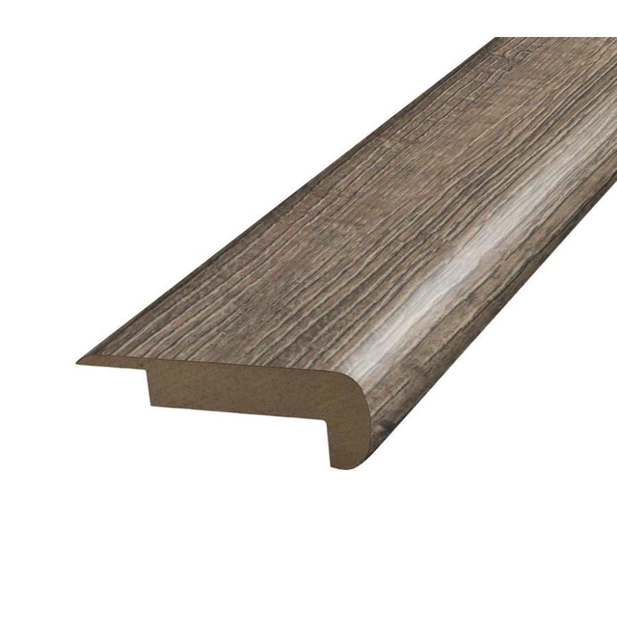 Exceptional SimpleSolutions 2.375 In X 78.75 In Grey Oak Stair Nose Floor Moulding