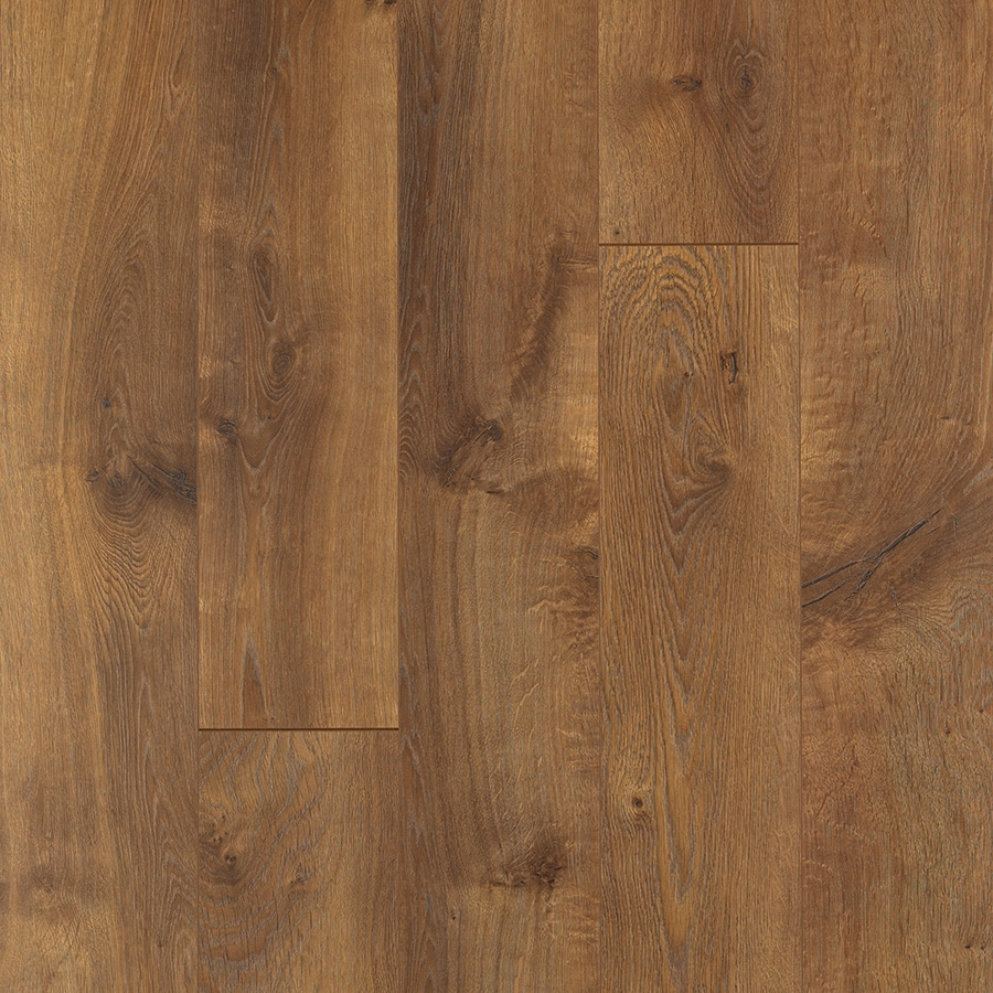 Shop pergo max w x l arlington oak for Hardwood plank flooring