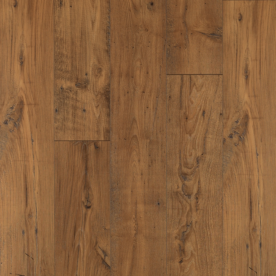 Shop Pergo Max Premier Amber Chestnut Wood Planks Laminate