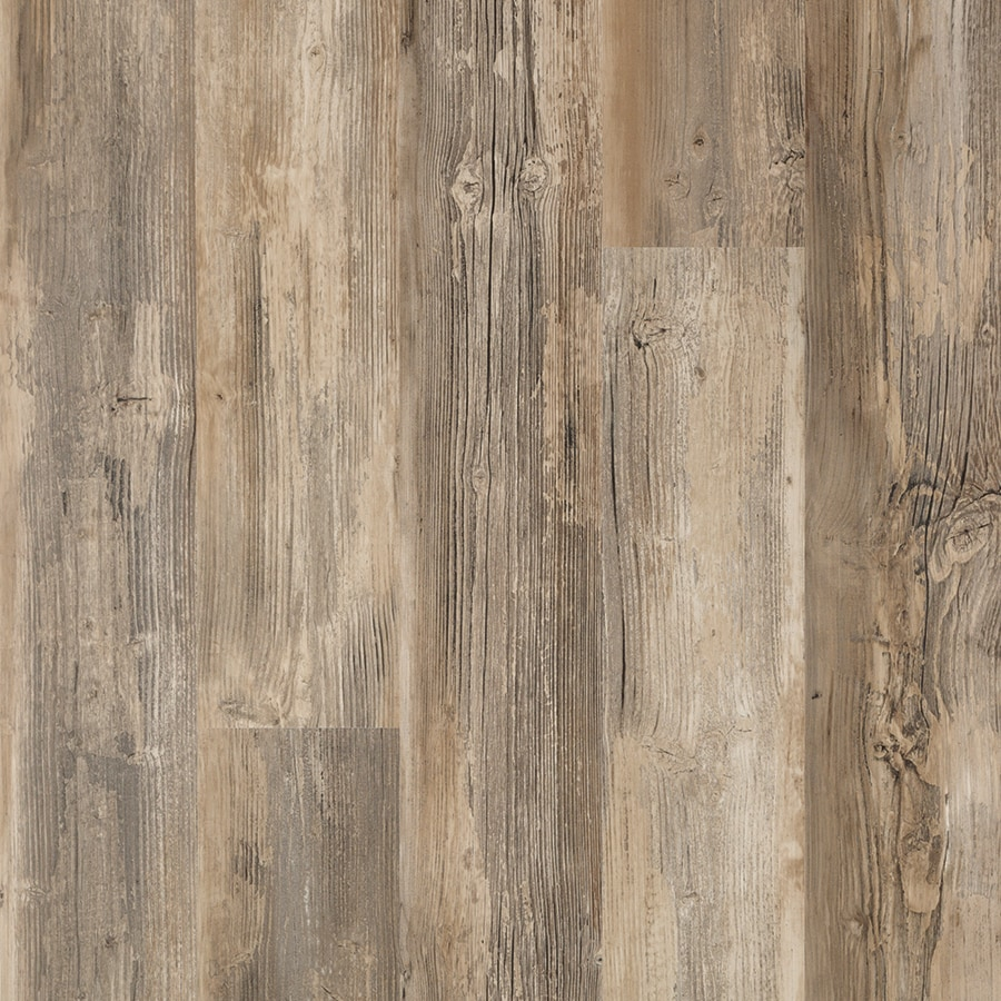 Shop pergo max premier newport pine wood planks laminate for Wood and laminate flooring