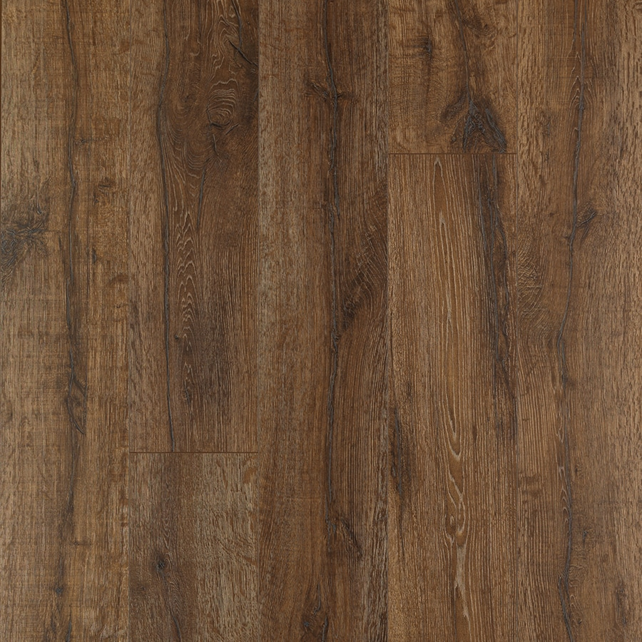 Shop pergo max premier bainbridge oak wood planks laminate for Pergo laminate flooring