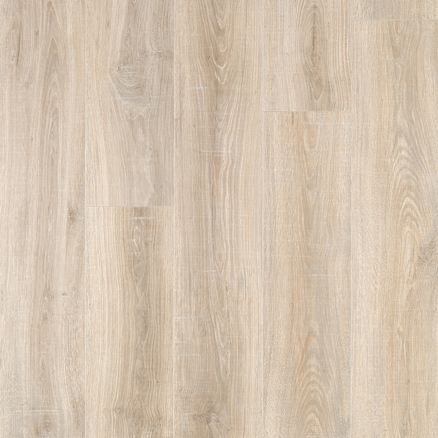 Shop pergo max premier san marco oak wood planks laminate for Wood and laminate flooring