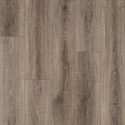 Max Premier Heathered Oak 7 48 In W X 4 52 Ft L Embossed Wood Plank Laminate Flooring