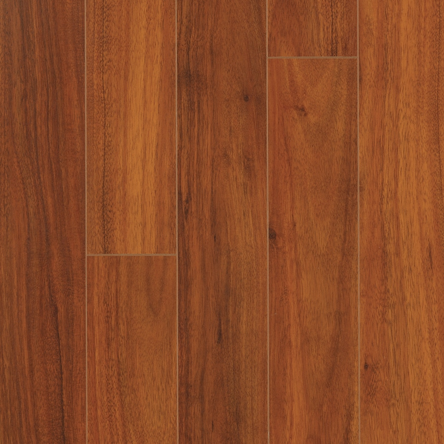 Pergo MAX 5.23-in W x 3.93-ft L Maui Acacia Smooth Wood Plank Laminate Flooring