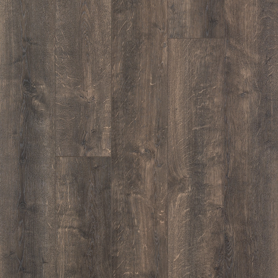 Shop Pergo Max Hidalgo Oak 6 14 In W X 3 93 Ft L Embossed