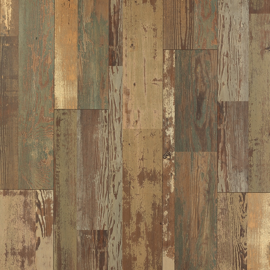 Shop pergo max w x l stowe painted pine for Pergo laminate flooring