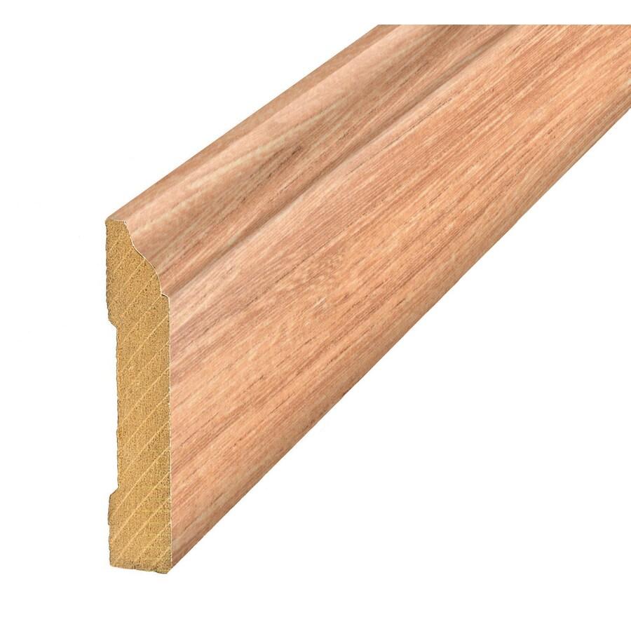 SimpleSolutions 3.3-in x 94.5-in Elm Base Floor Moulding