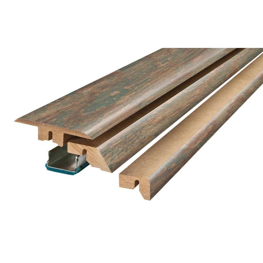 SimpleSolutions 2.37-in x 78.74-in Stowe Painted Pine 4-N-1 Floor Moulding