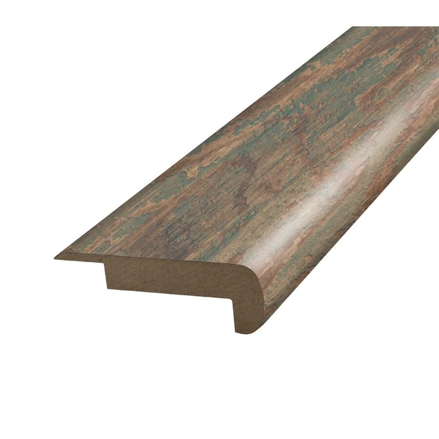 SimpleSolutions 2.37-in x 78.75-in Stowe Painted Pine Stair Nose Floor Moulding