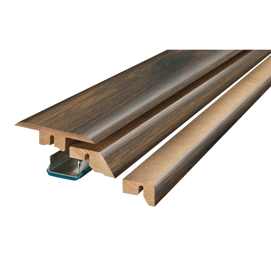 SimpleSolutions 2.37-in x 78.74-in Harvest Mill Chestnut 4-N-1 Floor Moulding
