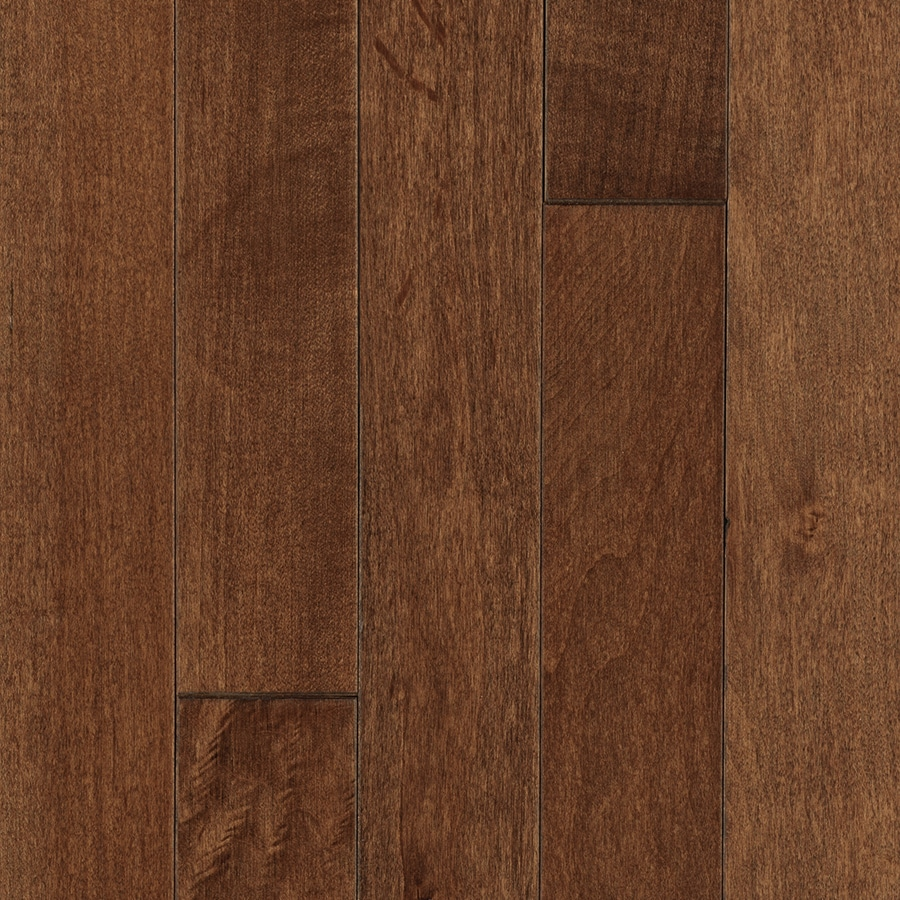 Mohawk Maple Hardwood Flooring Sample (Coffee)