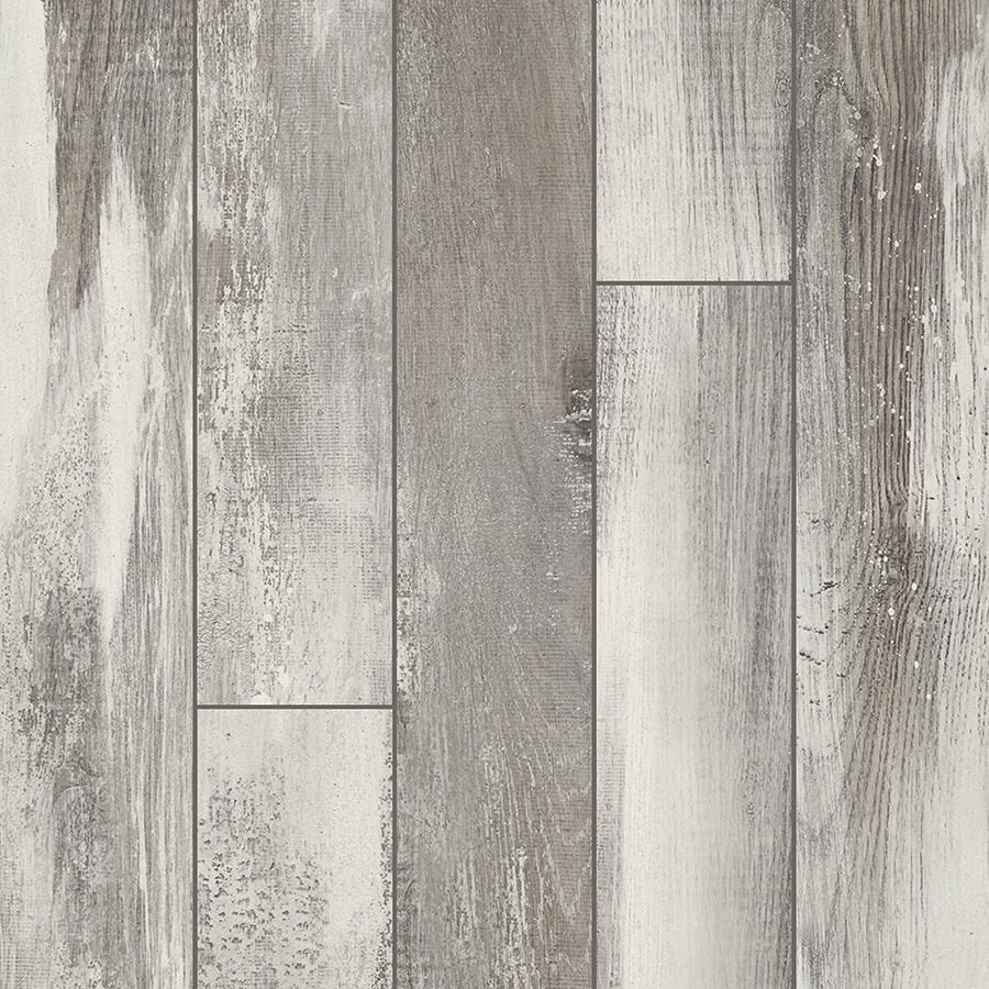 Shop pergo iceland oak grey wood planks laminate flooring Gray laminate flooring