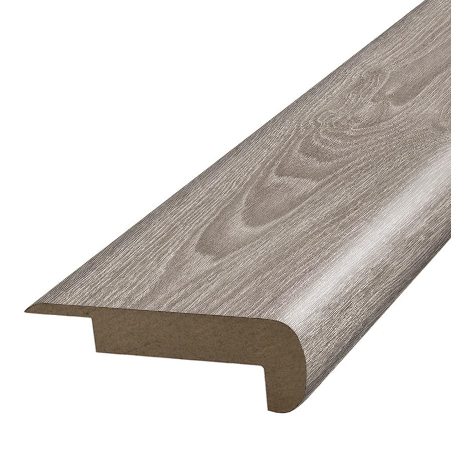 SimpleSolutions 2.37-in x 78.7-in Silver Oak Stair Nose Floor Moulding
