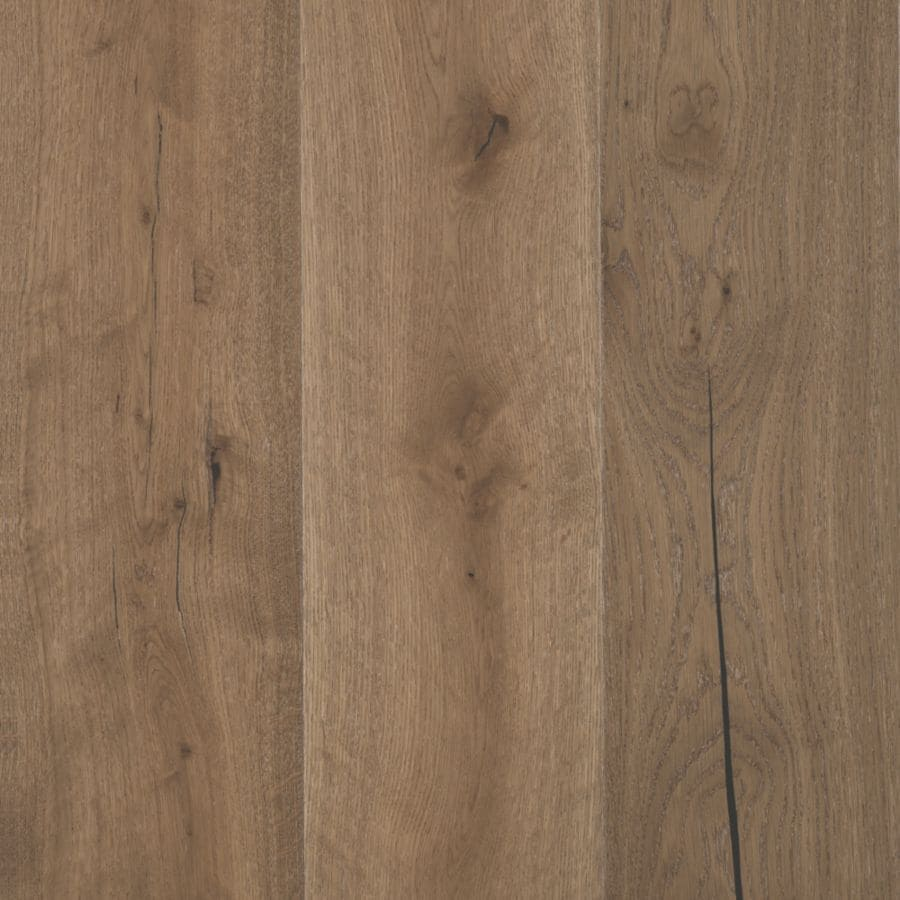 Shop mohawk oak hardwood flooring sample carolina caramel for Parquet hardwood flooring