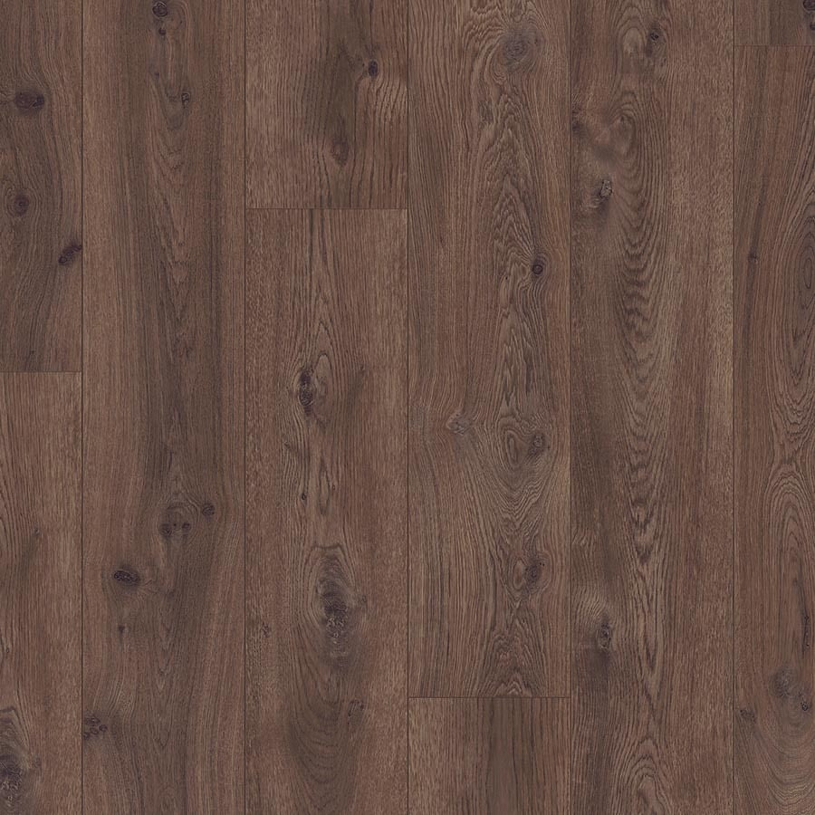 Shop pergo chocolate oak wood planks laminate flooring for Pergo laminate flooring