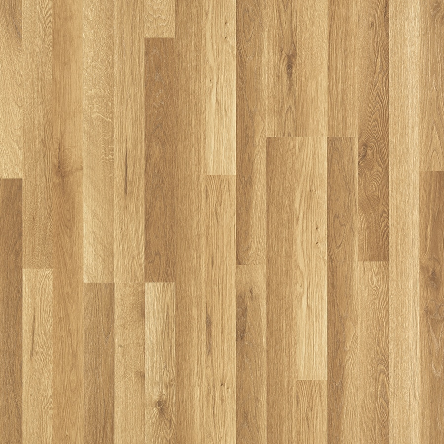 Shop pergo max spring hill oak wood planks laminate for Hardwood laminate