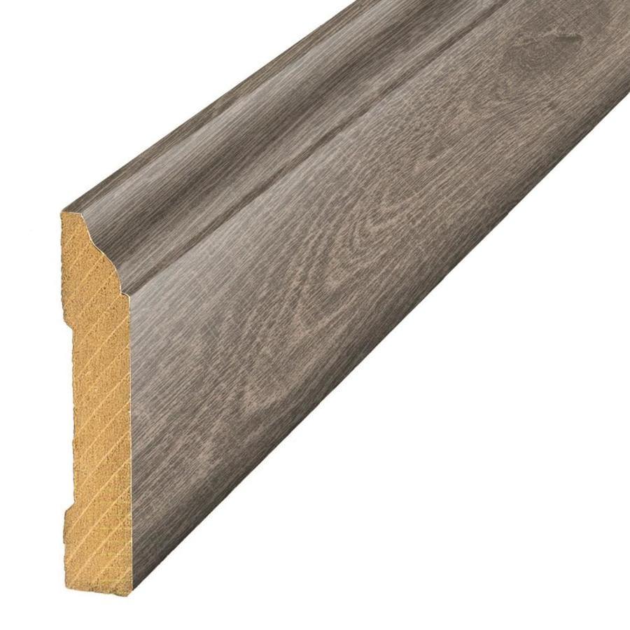 SimpleSolutions 3.3-in x 94.5-in Oak Base Floor Moulding