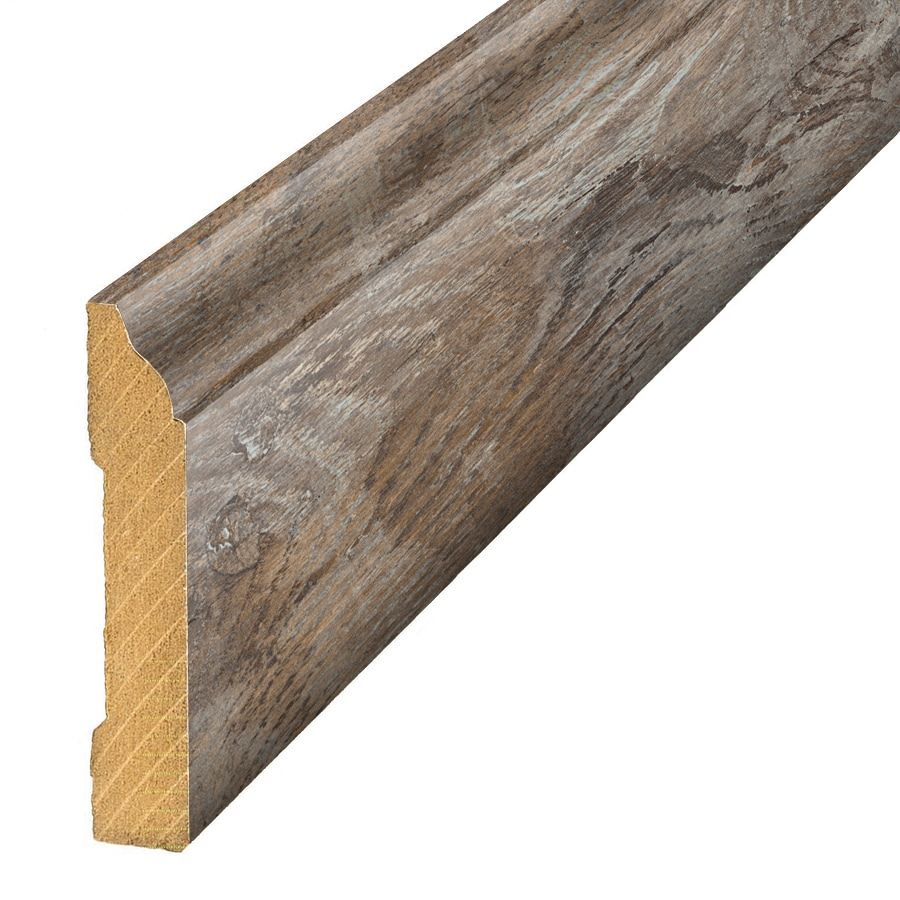 SimpleSolutions 3.3-in x 94.5-in Natural Wood Base Floor Moulding