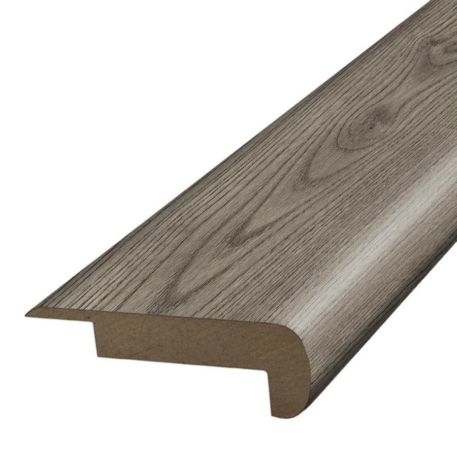 SimpleSolutions 2.37-in x 78.7-in Silver Mist Oak Stair Nose Floor Moulding