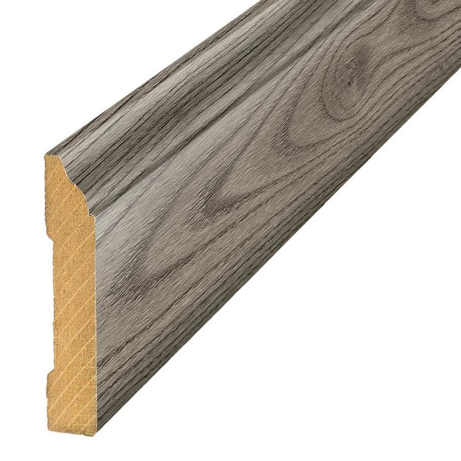 SimpleSolutions 3.3-in x 94.48-in Silver Mist Oak Base Floor Moulding