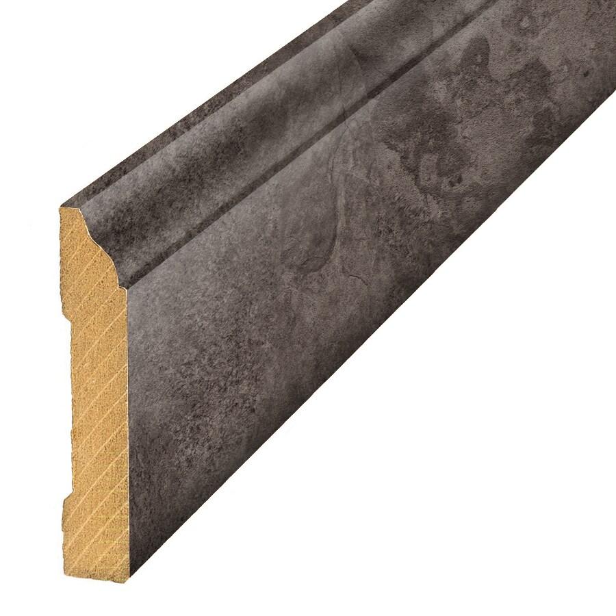 SimpleSolutions 3.3-in x 94.5-in Glentanner Slate Base Floor Moulding