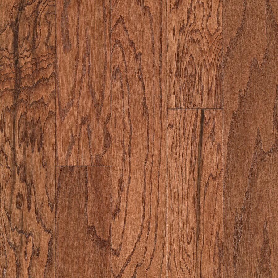 Shop Pergo MAX 5.36-in Gunstock Oak Engineered Hardwood
