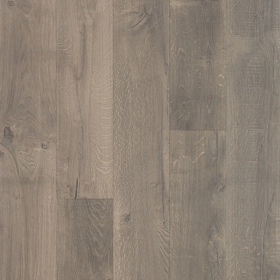 Laminated Flooring Special Characters And Specifications Pergo TimberCraft + WetProtect Waterproof West Lake Oak 7.48-in W x 4.52-ft  L Embossed Wood Plank Laminate Flooring