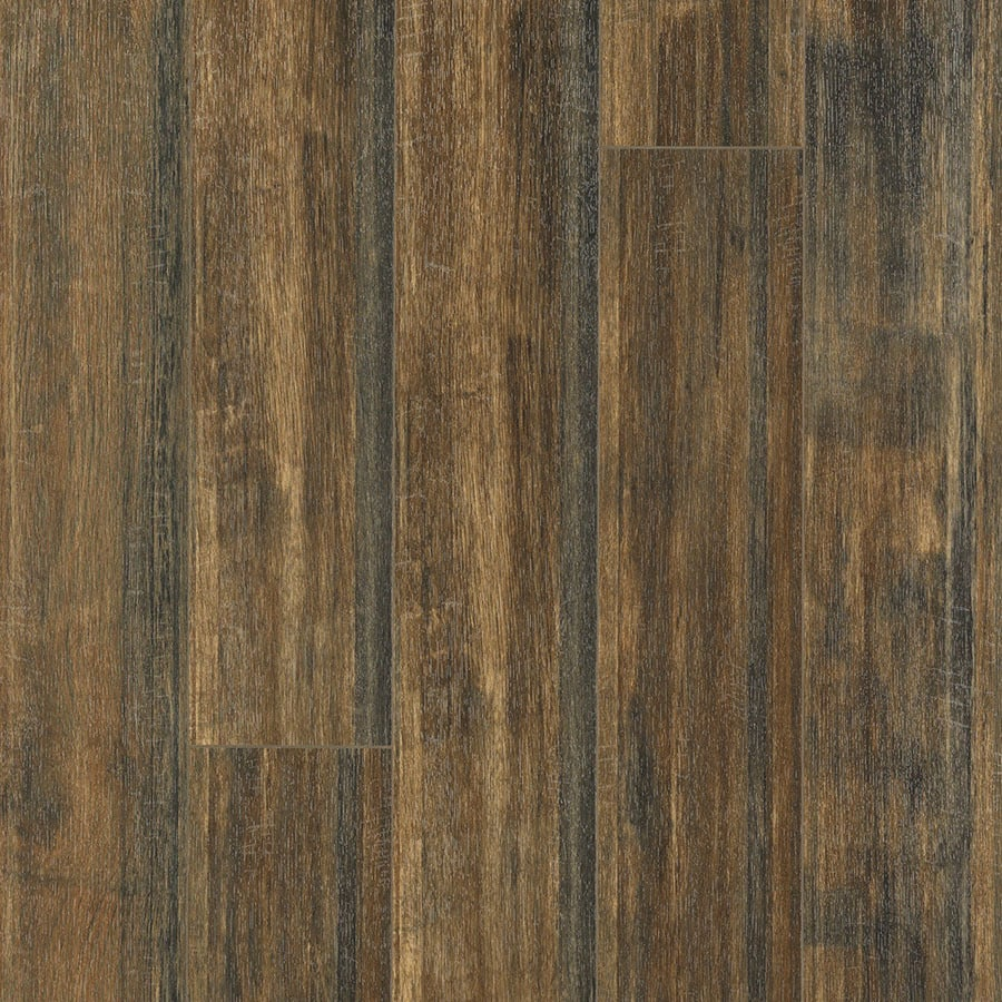 Pergo Portfolio 6.14-in W x 3.93-ft L Calico Oak Handscraped Wood Plank Laminate Flooring