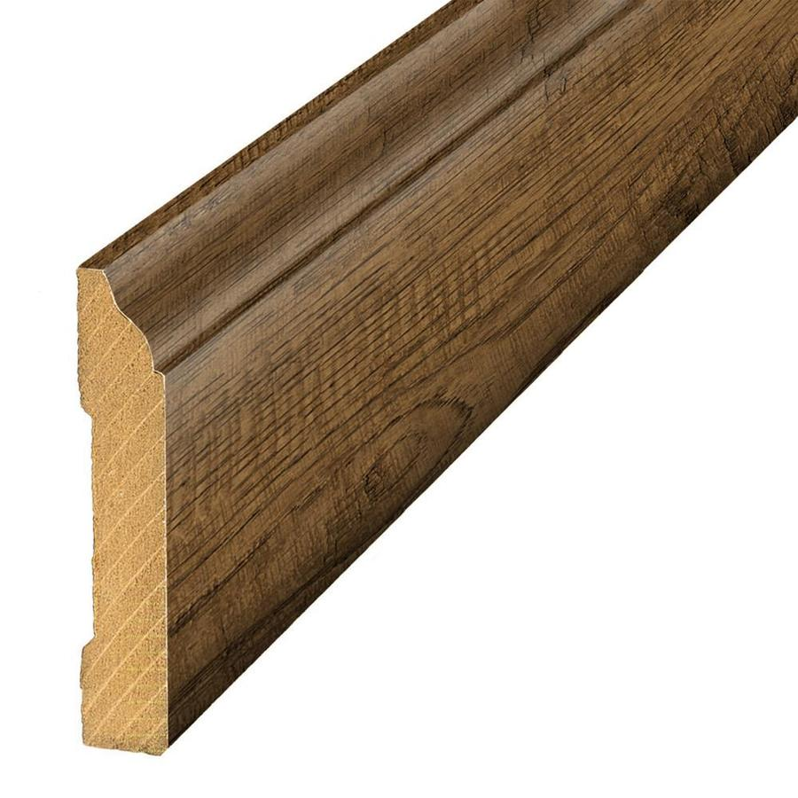 SimpleSolutions 3.3-in x 94.5-in South Haven Oak Base Floor Moulding